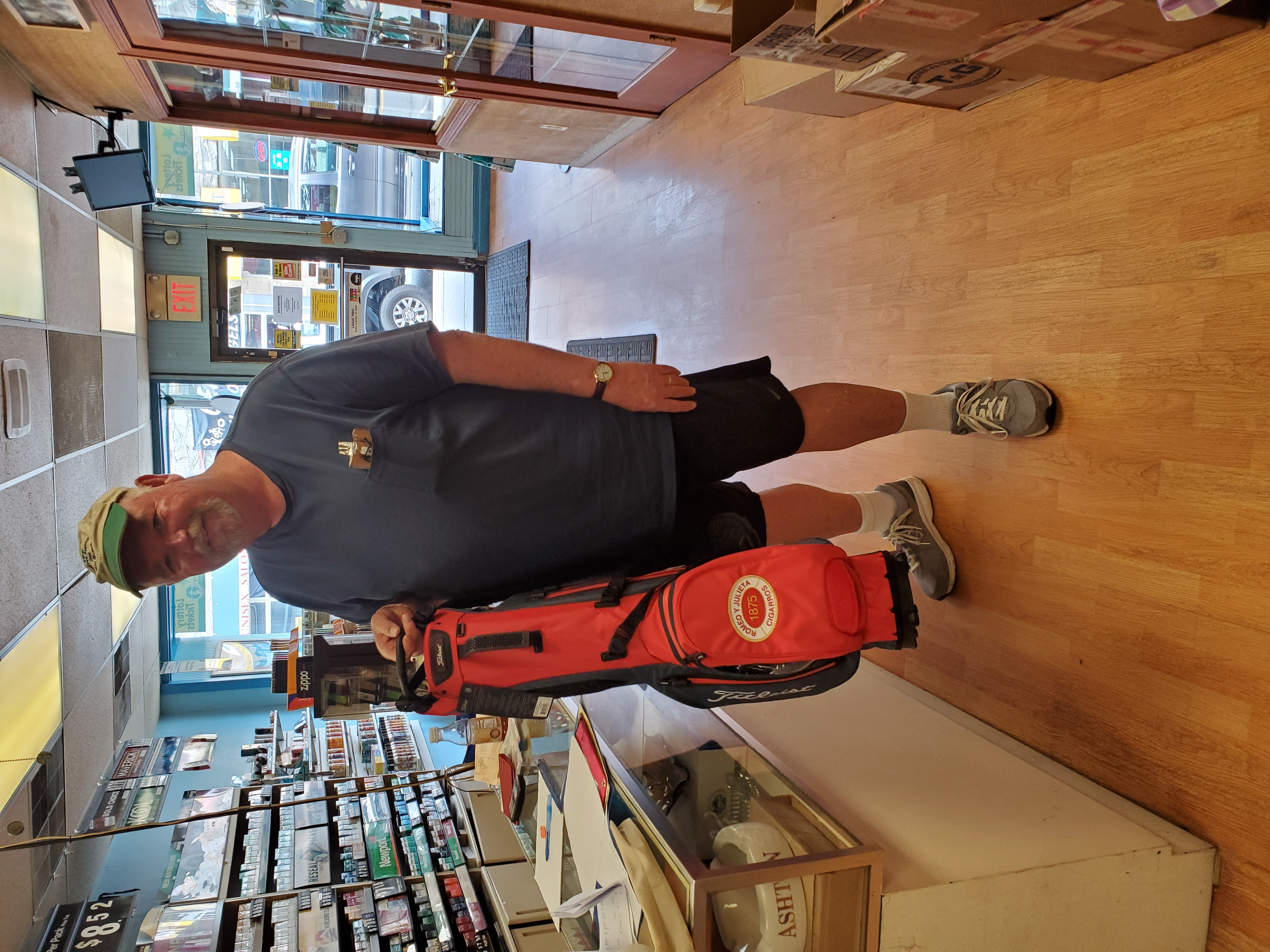 RyJ Golf Raffle winner
